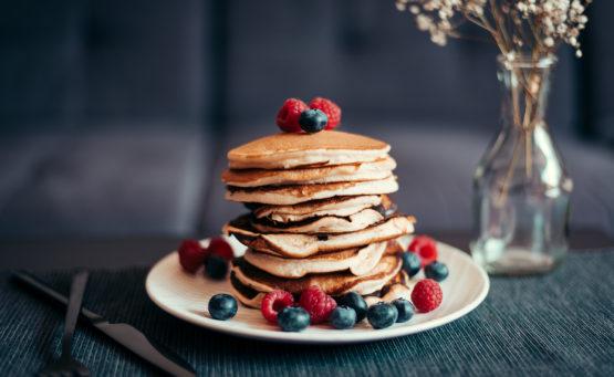 Fluffige Pancakes